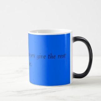 弁護士の冗談のマグ マジックマグカップ