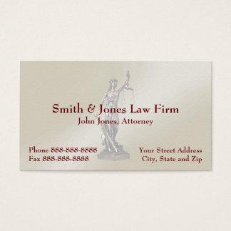 弁護士の弁護士の記号の法的名刺 名刺