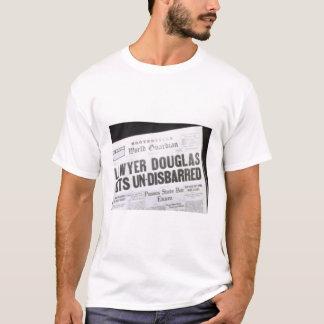 """""""弁護士得ます非弁護士としての資格を剥奪されて""""は Tシャツ"""