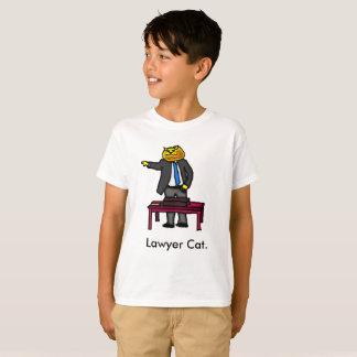弁護士猫 Tシャツ