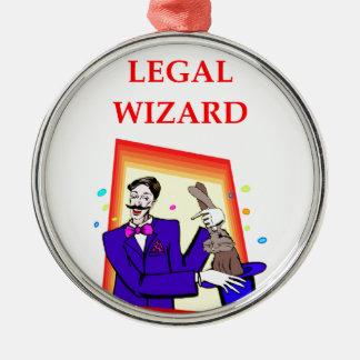 弁護士 メタルオーナメント