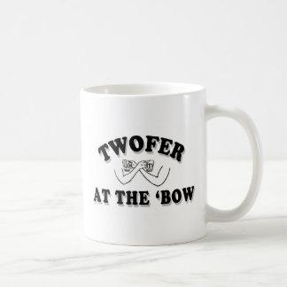 「弓のTwofer コーヒーマグカップ