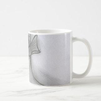 弓を持つフラッパーの女の子 コーヒーマグカップ