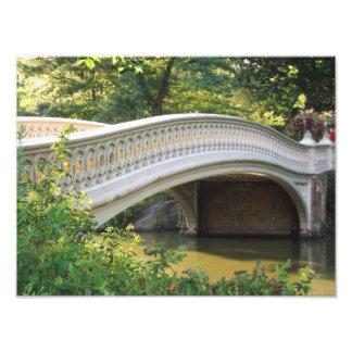 弓橋、セントラル・パークNYC フォトプリント