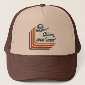 弓Chickaのワウのワウのトラック運転手の帽子 キャップ