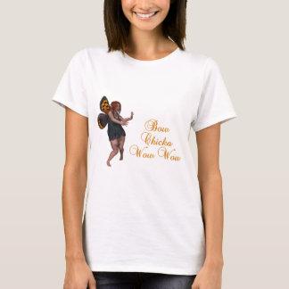 弓chicka wow wow tシャツ