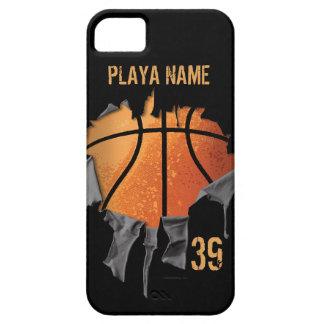 引き裂かれたバスケットボール iPhone SE/5/5s ケース