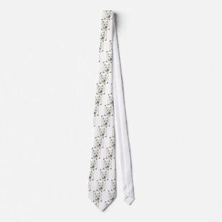 引き裂かれたペーパー端を持つWestieかわいい犬は設計します ネクタイ