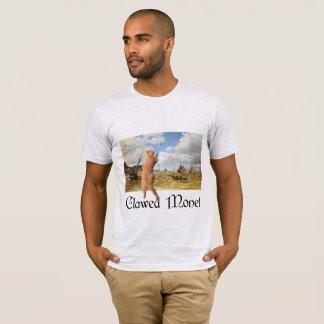 引き裂かれたMonet Tシャツ