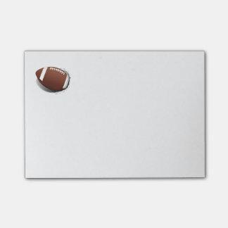 引き裂くフットボール ポストイット
