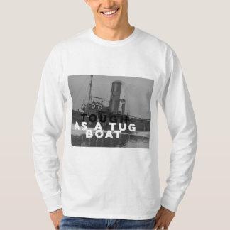 引っ張りのボートの長袖のTシャツの白として堅い Tシャツ