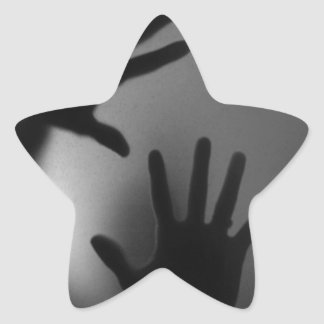 引っ掛けられる 星シール