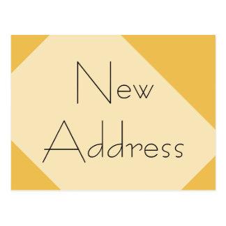 引っ越しましたの新しい住所 ポストカード