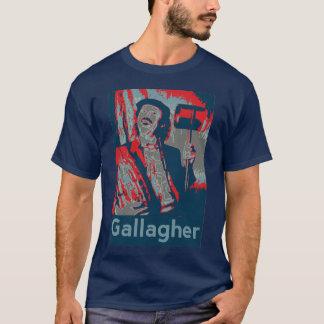 引用のGallagher (オバマのパロディ) Tシャツ