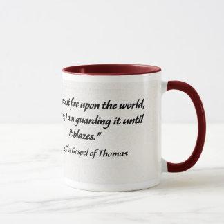 引用文のマグイエス・キリストトマスによる福音書 マグカップ