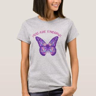 引用文の断言: 十分です Tシャツ