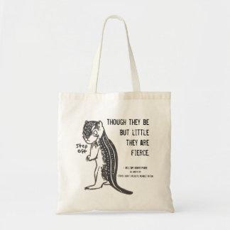 引用文の激しい地上のSqurrel トートバッグ