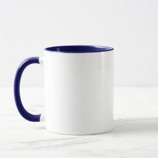 引用文の紫色のペチュニアのマグ マグカップ
