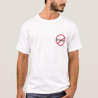 引用文の背部とのアンチ社会主義 Tシャツ