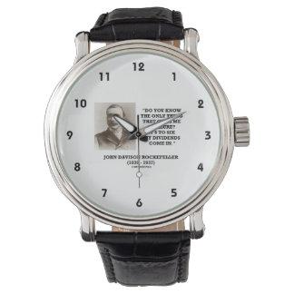 引用文入って来私の配当を見るロックフェラー 腕時計