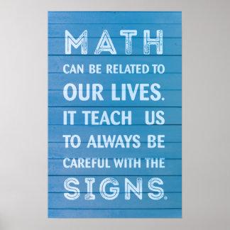 引用文-数学ポスター ポスター