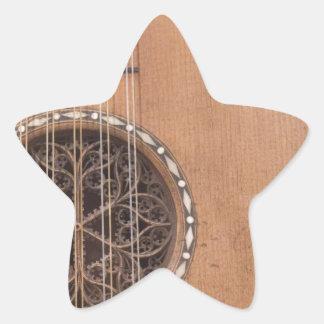 弦楽器VI 星シール