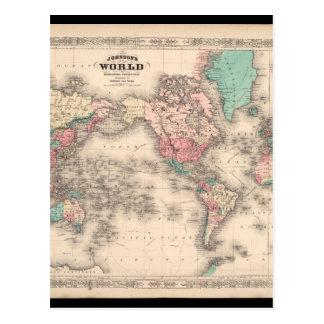 弱い世界地図27 ポストカード