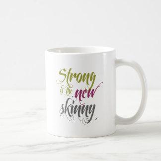 強いです新しい細いの-原稿 コーヒーマグカップ