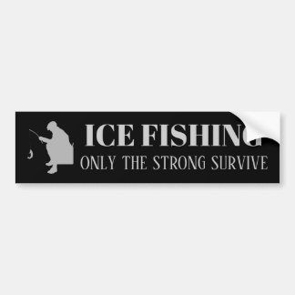 強いのだけ採取する氷はバンパーステッカーを生き延びます バンパーステッカー