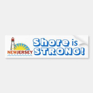 強いジャージーの海岸 バンパーステッカー
