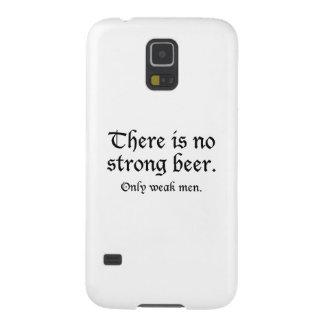 強いビールがありません。 弱い人だけ GALAXY S5 ケース