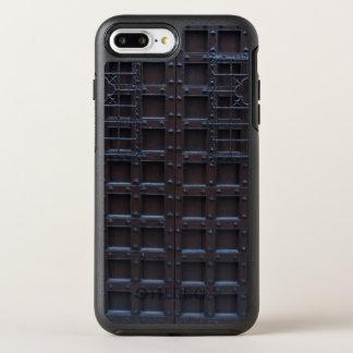 強いブラウンの鉄のドア オッターボックスシンメトリーiPhone 8 PLUS/7 PLUSケース