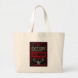 強いホノルルOWSの抗議を99%占めて下さい ラージトートバッグ
