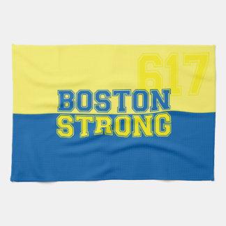 強いボストン キッチンタオル