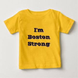 強いボストン ベビーTシャツ