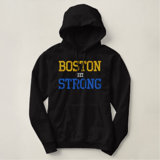 強いボストン 刺繍入りパーカ