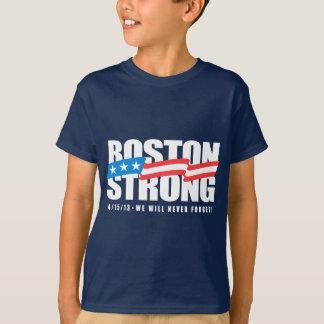 強いボストン Tシャツ