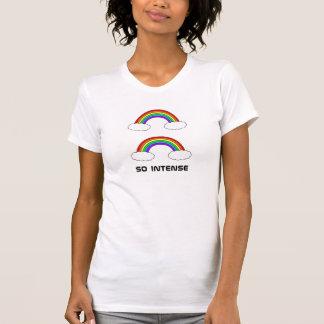 強い二重虹、そう Tシャツ