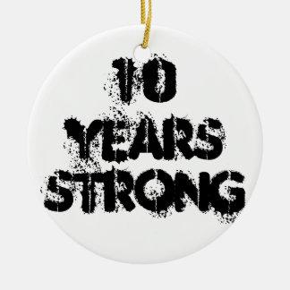 強い回復オーナメント10年の セラミックオーナメント
