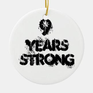 強い回復9年の セラミックオーナメント