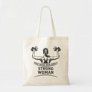 強い女性のトートバック トートバッグ