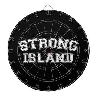 強い島、NYC、米国 ダーツボード