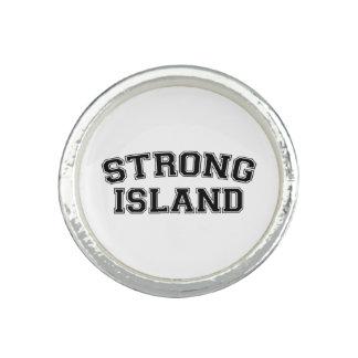 強い島、NYC、米国 指輪