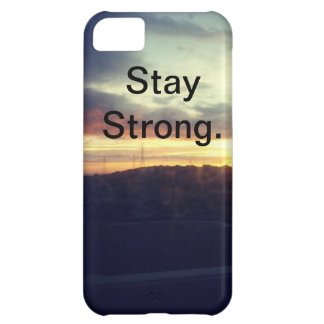強い滞在 iPhone5Cケース