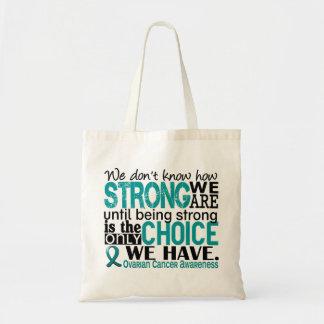 強い私達がいかにあるか卵巣癌 トートバッグ