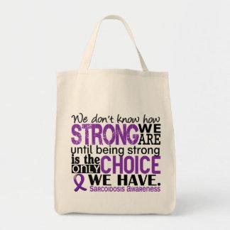 強い私達がいかにあるか類肉腫症 トートバッグ