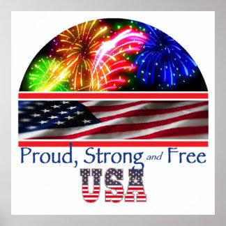 強い米国 ポスター