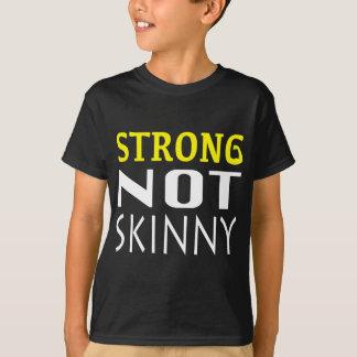 強い細くない Tシャツ