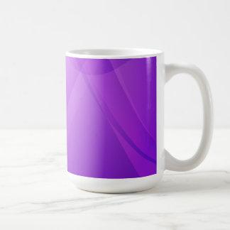 、強い、紫色の薄紫すみれ色 コーヒーマグカップ