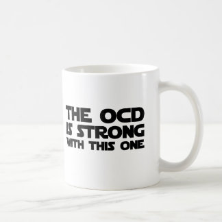 強いOCD コーヒーマグカップ